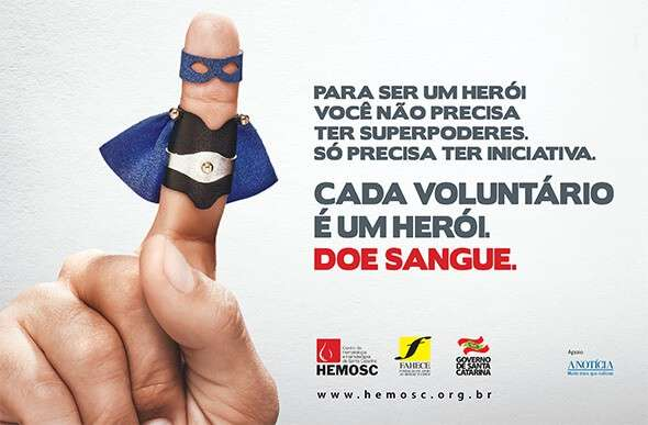 doe sangue hemosc cada voluntario e um heroi