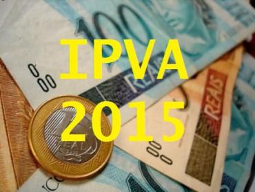 IPVA SC 2015 está com valor reduzido