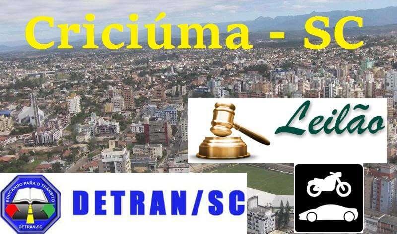 leilao detran sc criciuma sc